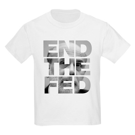 End the Fed Bernanke Kids Light T-Shirt