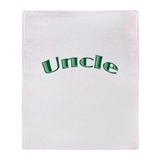 Uncle Throw Blanket