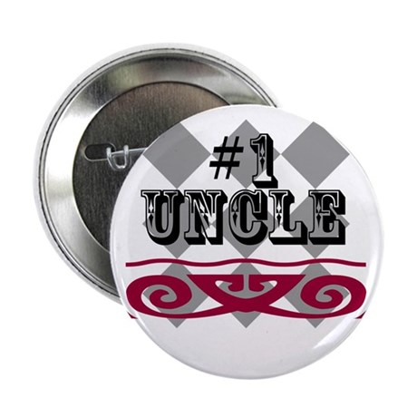 """Number One Uncle 2.25"""" Button"""