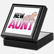 New Aunt,Girl Keepsake Box