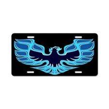 Firebird / Trans Am - Blue Aluminum License Plate