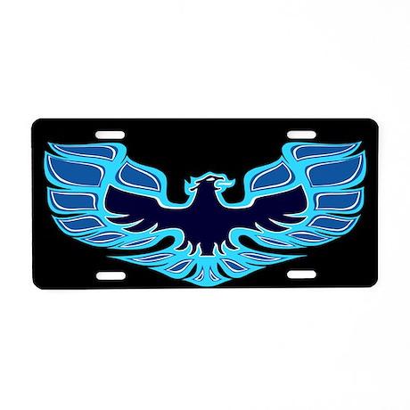 Firebird / Trans Am - Blue Aluminum License Plate