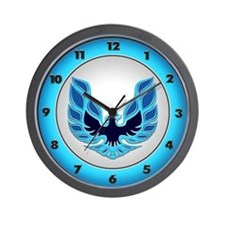 Firebird / Trans Am - Blue Wall Clock