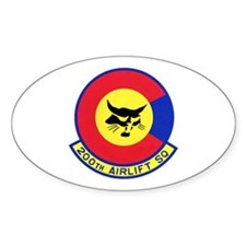 200th Airlift Squadron Oval Decal