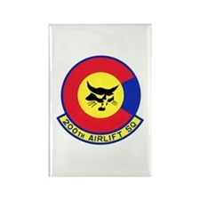 200th Airlift Squadron Rectangle Magnet