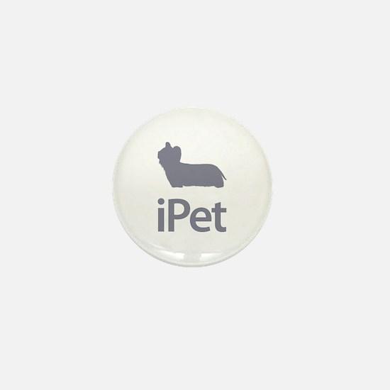Skye Terrier Mini Button