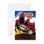 Little Heroes Superhero Greeting Card
