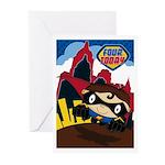 Little Heroes Superhero Greeting Cards (Pk of 20)
