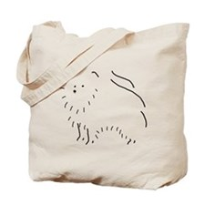 Pom Sketch Tote Bag