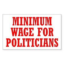 Minimum Wage Decal