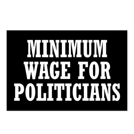 Minimum Wage Postcards (Package of 8)