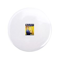 "We can do it 3.5"" Button (100 pack)"