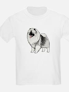 Keeshond Kids T-Shirt