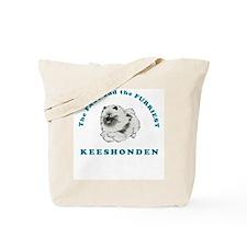 Fast & Furriest Keeshonden Tote Bag