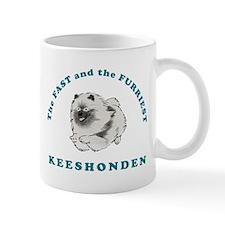 Fast & Furriest Keeshonden Mug