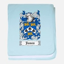 James II baby blanket