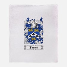 James II Throw Blanket