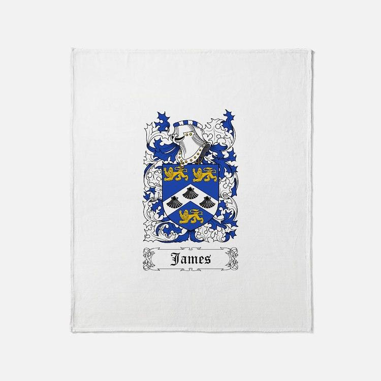 James II Throw Blanket