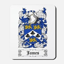James II Mousepad