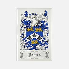 James II Rectangle Magnet