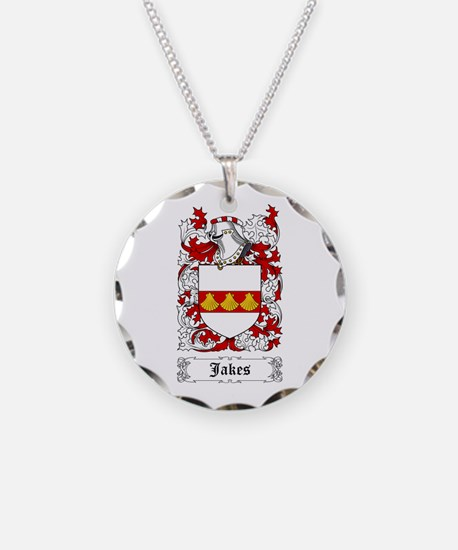 Jakes Necklace Circle Charm
