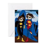 Cute Superhero Greeting Cards (Pk of 10)