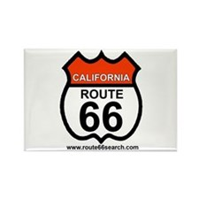 California Route 66 Rectangle Magnet