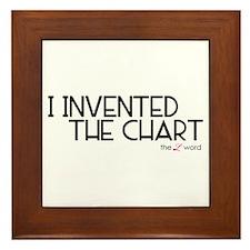 the L word Framed Tile