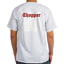 Chopper Red Ash Grey T-Shirt