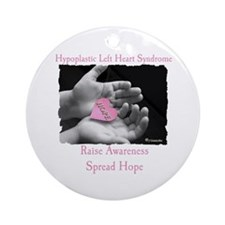 HLHS AWARENESS Ornament (Round)