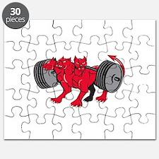 Cerberus Multi-headed Dog Hellhound Powerlifting B