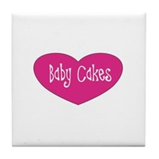 Baby Cakes Tile Coaster