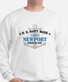 US Navy Newport Base Sweatshirt