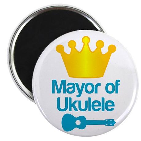 Mayor of Ukulele Magnet