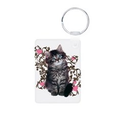 Cute Kitten Kitty Cat Lover Keychains