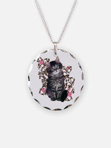 Cute Kitten Kitty Cat Lover Necklace