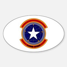 221st Combat Communications Oval Decal