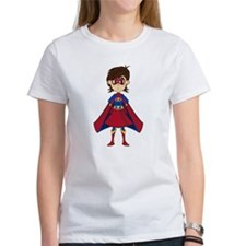 Cute Superhero Girl Tee