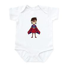 Cute Superhero Girl Infant Bodysuit
