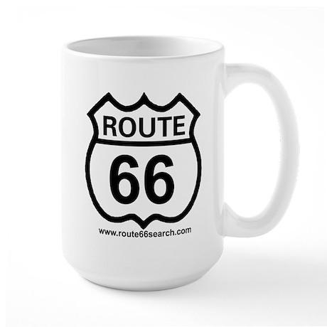 Route 66 Large Coffee Mug