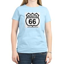 Route 66 Women's Pink T-Shirt