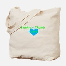 Blankie + Thumb + Love Tote Bag