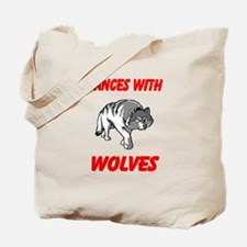 Dance with wolves Tote Bag
