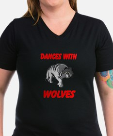 wolves and vampires V-Neck Dark T-Shirt