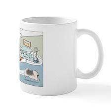 Agility Keeshond (he) Mug