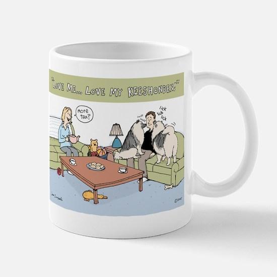 Love My Keeshonden Mug