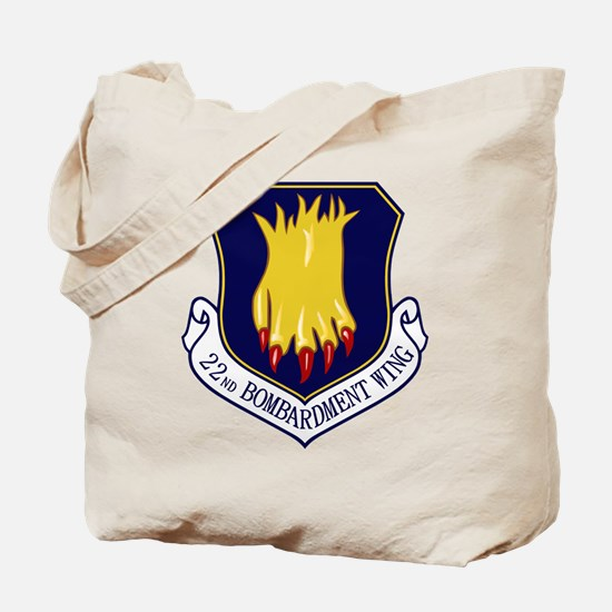 22nd Bomb Wing Tote Bag