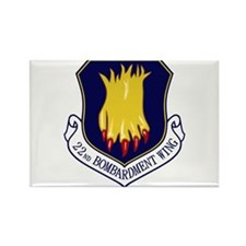 22nd Bomb Wing Rectangle Magnet