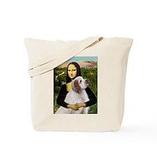 Mona/Clumber Spaniel Tote Bag