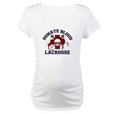Donate Blood Play Lacrosse Shirt